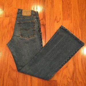 """Jordache Jeans 7/8 Women """"Mom"""" 70's Flare"""